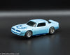 USED Tyco HO Blue w/ Blue Firebird Trans Am Slot Car