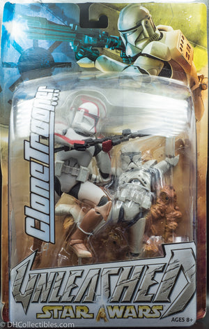 2004 Star Wars Unleashed Clone Trooper - Action Figure