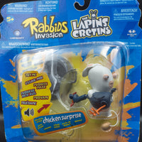 2014 McFarlane Rabbids Invasion Chicken Surprise - Action Figure