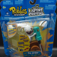 2014 McFarlane Rabbids Invasion The Driller - Action Figure