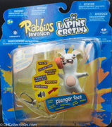 2014 McFarlane Rabbids Invasion Plunger Face - Action Figure