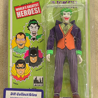 "Figures Toy Co. - World's Greatest Heroes Series 1 - Joker Action Figure 8"" Mego Retro"
