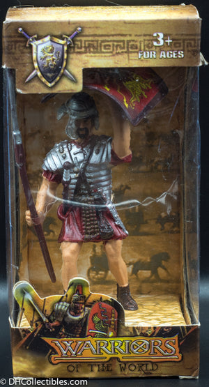 BBI Warriors Of The World Roman Guard Toy Soldier with Shield 000302-00