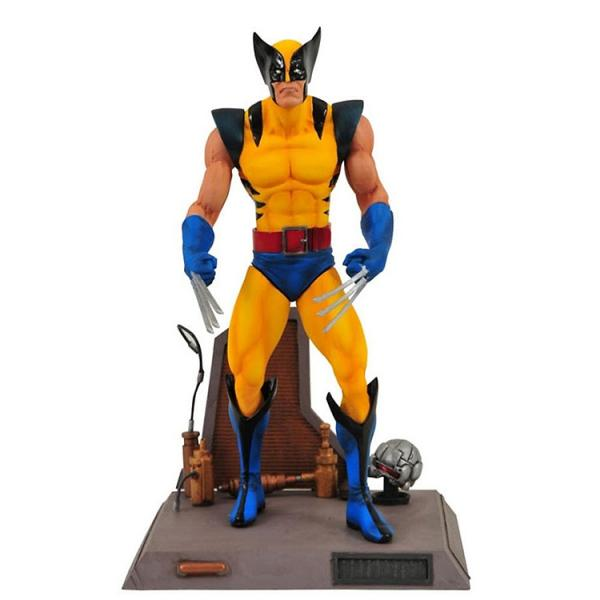 Marvel Select Yellow Costume Wolverine Action Figure