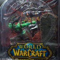 2010 DC Unlimited World Of Warcraft Series 7 Orc Rogue Garona - Action Figure