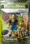 1999 WWE TitanTron World Wrestling Federation 2000 Live Smack Down Series 2 Stone Cold Steve Austin - Action Figure