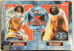 "ToyBiz 2000 X-Men X Mutations Storm - 8"" Action Figures"