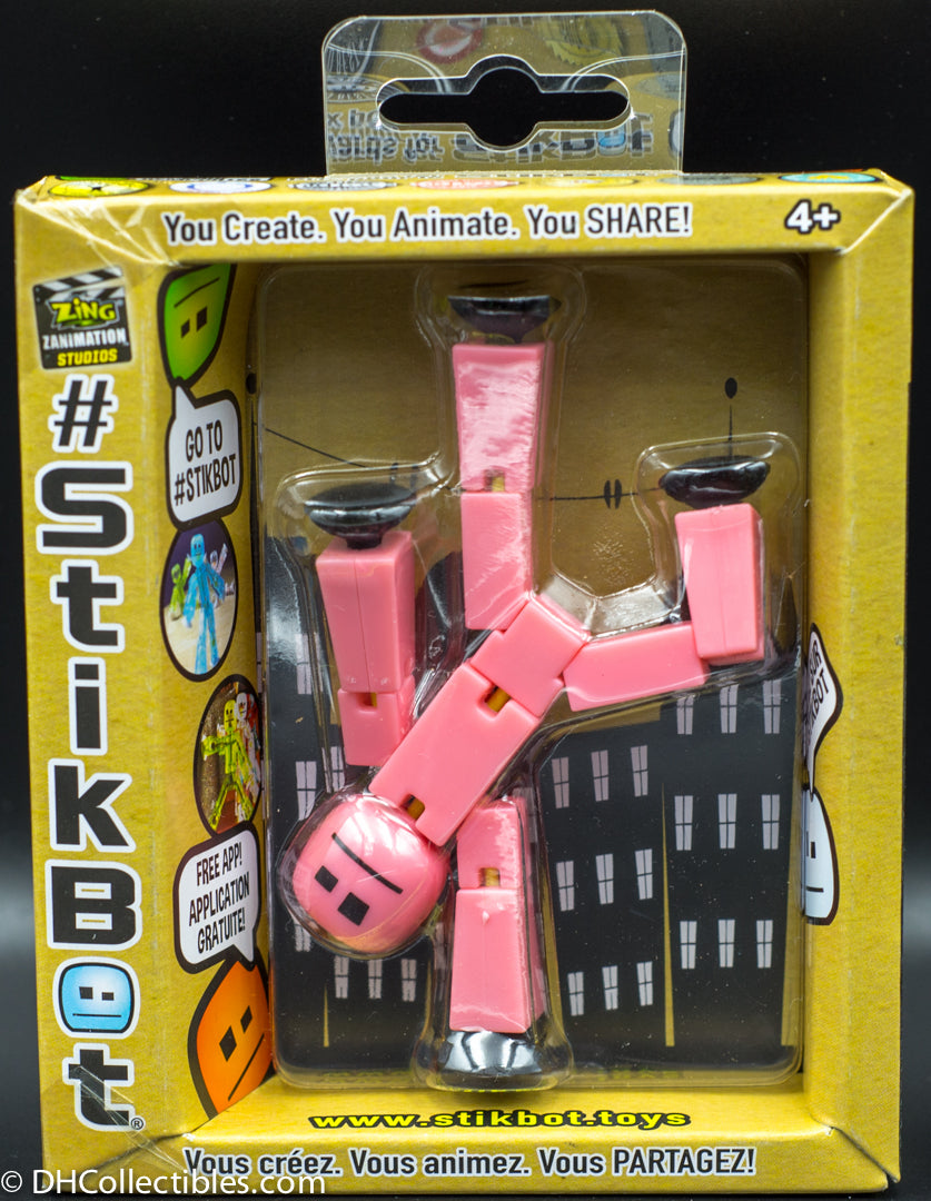 Stikbot Single Figure Pack - Yellow