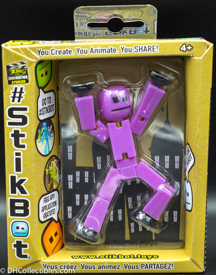 Stikbot Single Figure Pack - Purple