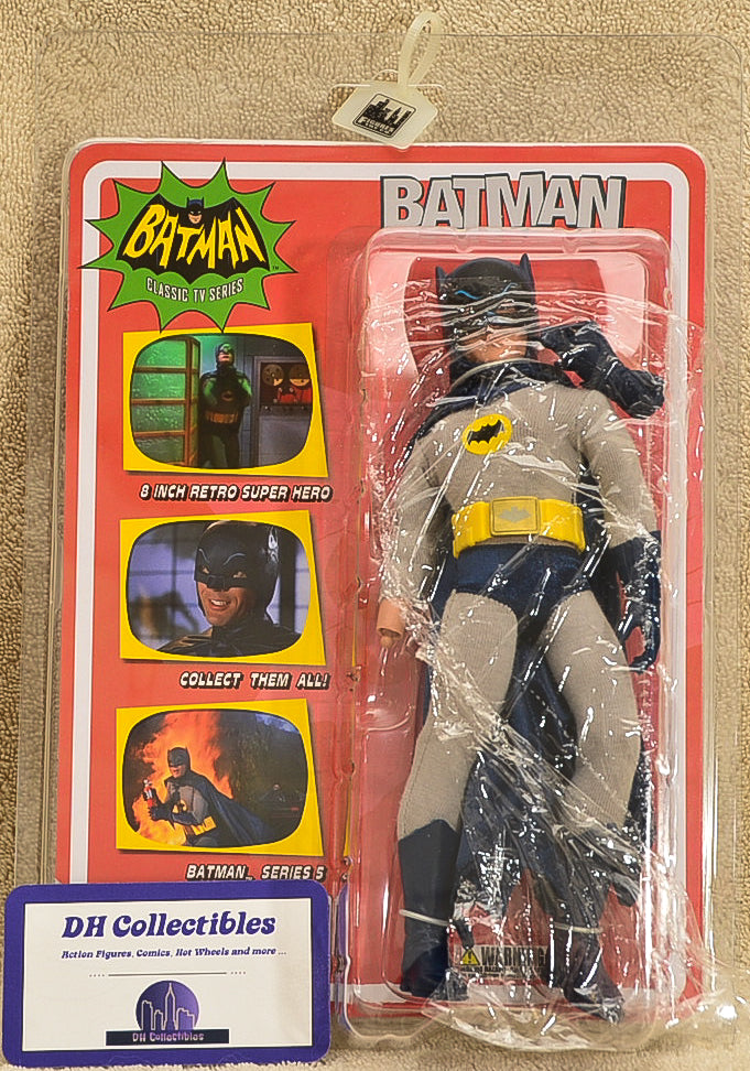 "Figure Toy Co. Batman - Classic TV Series 5 Action Figure 8"" Mego Retro"