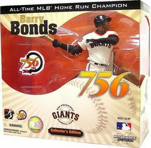 2007 McFarlane MLB Collector's Edition Barry Bonds 756 Home Run Champion Action Figure