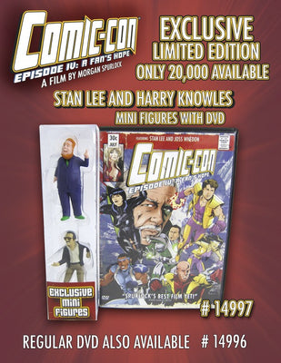 2012 Comic Con Episode IV DVD Limited Edition with Stan Lee Action Figure