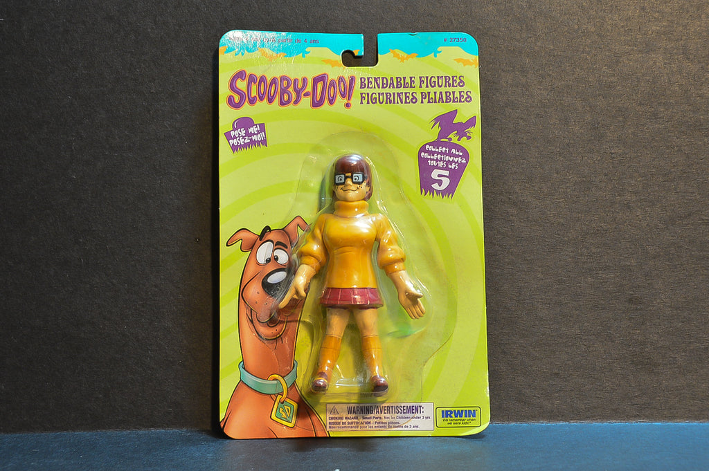 1999 Irwin Toy Scooby-Doo Bendable Figures Velma
