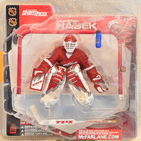 McFarlane SportsPicks NHL- Dominik Hasek Detroit Red Wings Red Jersey - Action Figure