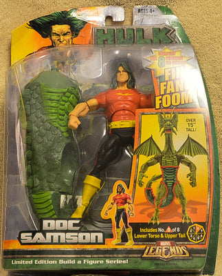 Marvel Legends - Doc Samson - Fin Fang Boom - Limited Edition Action Figure