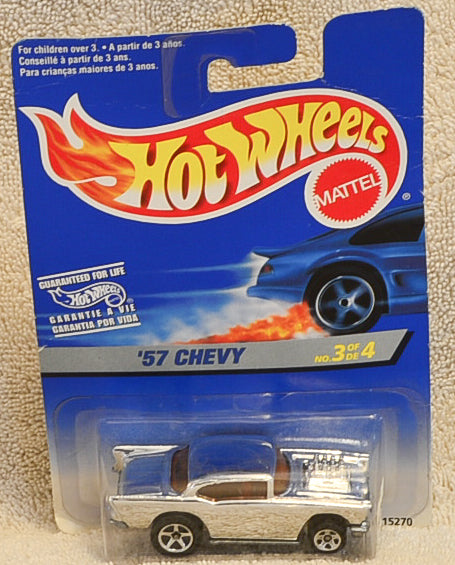 Hot Wheels '57 Silver Chevy