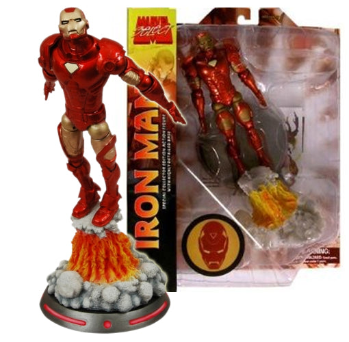 "2016 Diamond Select Marvel Select Iron Man 7"" Action Figure"
