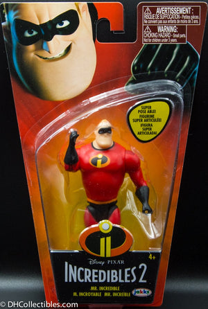 2018 Jakks Disney Incredibles 2 Mr Incredible Action Figure