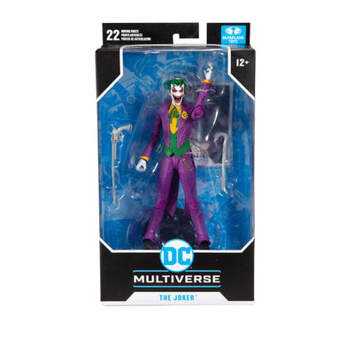 2020 McFarlane Arkham Asylum DC Multiverse The Joker Action Figure