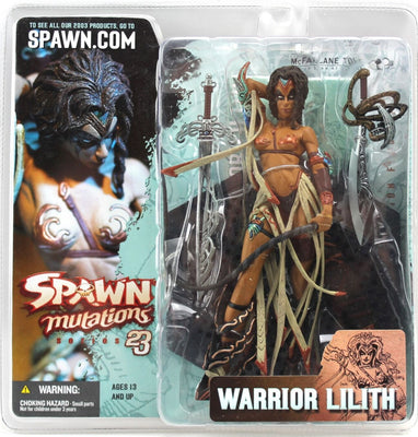 2003 McFarlane Spawn Mutations Series 23 Warrior Lilith Vintage Action Figure