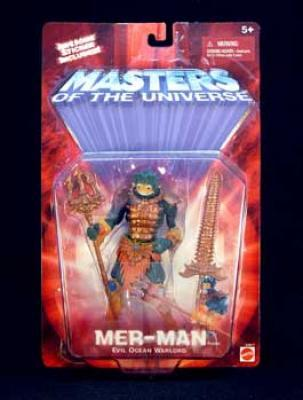 2001 Masters of the Universe Modern Series Mer-Man -  Action Figure