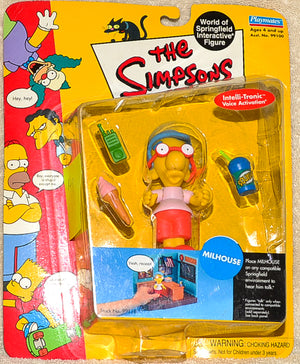 Playmates - The Simpsons - Interactive Milhouse - Action Figure