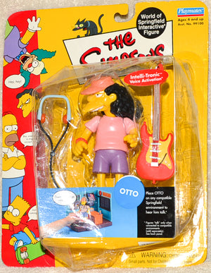 Playmates - The Simpsons - Interactive Otto - Action Figure