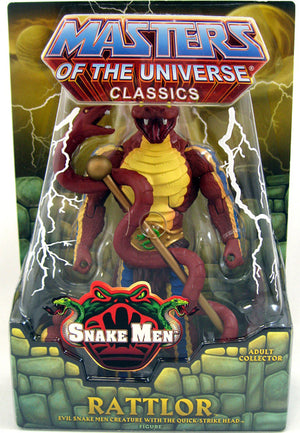 2012 Masters of the Universe Classics Rattlor Action Figure