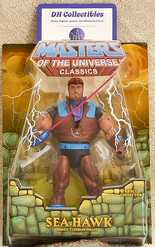 Mattel - Masters of the Universe - Sea Hawk Action Figure