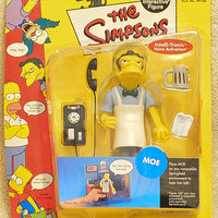 The Simpsons - Interactive Sideshow Moe - Action Figures