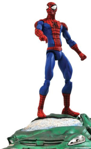 "2017 Diamond Select Marvel Select Spider-Man 7"" Action Figure"