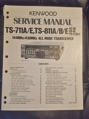 Kenwood TS-711 / 811  Service Manual