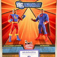 DC Universe Battle For Earth 3 Ultraman Alexander Luthor Two Figure Action Set
