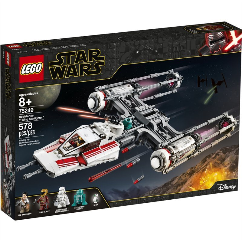 2019 LEGO Star Wars Episode IX Resistance Y-Wing Starfighter