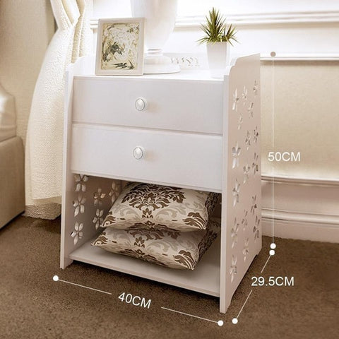 Wood Bedroom Bedside Table – Homedecorperfections
