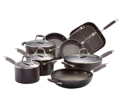 Anolon Advanced 8 Piece Cookware Set - ZoeKitchen