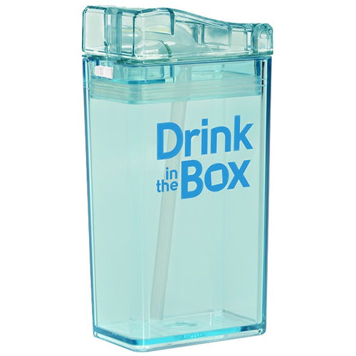 drink in the box - drink container blue 250ml - ZoeKitchen