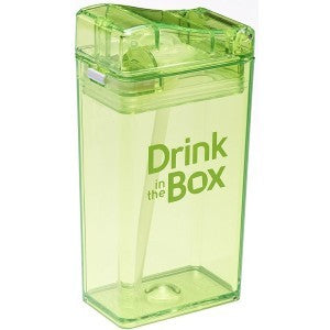drink in the box - drink container green 250ml - ZoeKitchen