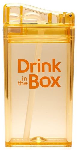 drink in the box - drink container orange 250ml - ZoeKitchen