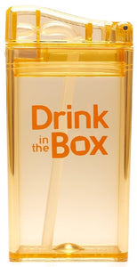 Drink In The Box - Drink Container Orange 250ml - ZOES Kitchen