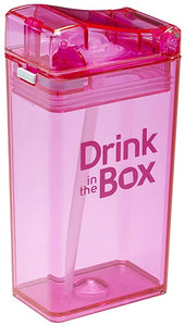 drink in the box - drink container pink 250ml - ZoeKitchen