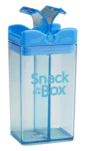 snack in the box - snack container blue - ZoeKitchen