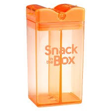 snack in the box - snack container orange - ZoeKitchen