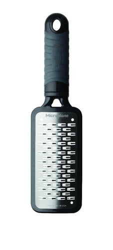 MICROPLANE MEDIUM RIBBON GRATER BLACK - ZoeKitchen