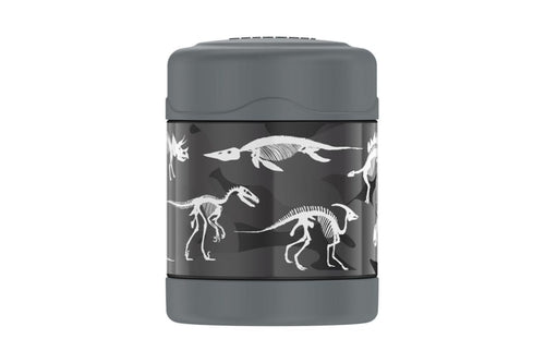 thermos funtainer food jar 290ml- dinosaurs - ZoeKitchen