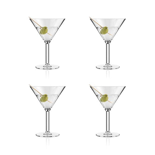 BODUM OKTETT OUTDOOR MARTINI GLASSES - S4 250ML