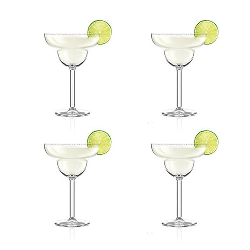 BODUM OKTETT OUTDOOR MARGARITA GLASSES - S4 250ML - ZoeKitchen