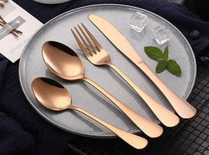 cove your home table fork - rose gold - ZoeKitchen