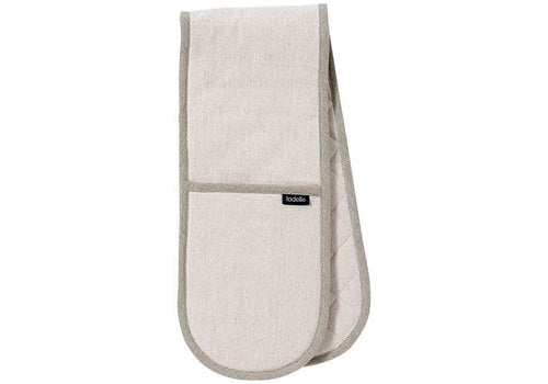 Ladelle Eco Recycled Natural Double Oven Mitt - ZoeKitchen