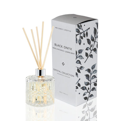 Mrs Darcy Crystal Diffuser : Black Onyx - Neroli, Patchouli & Juniper Berry